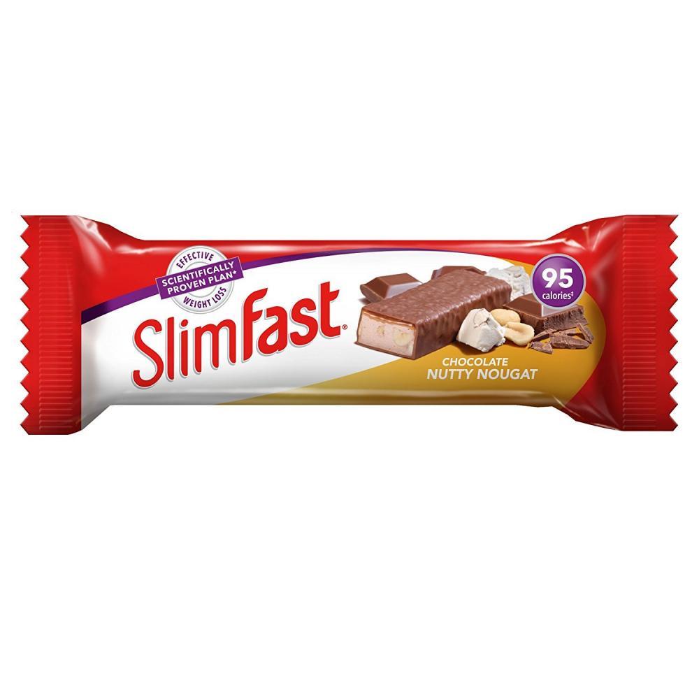 SlimFast Nutty Nougat Snack Bar 25g