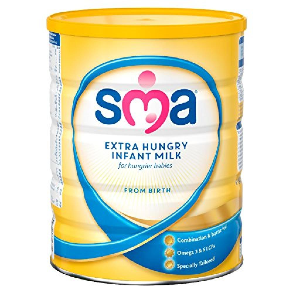 SMA Extra Hungry Infant Milk from Birth 800 g
