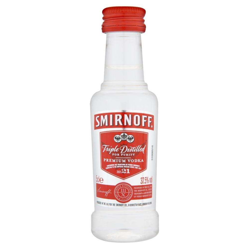 Smirnoff Vodka 5cl