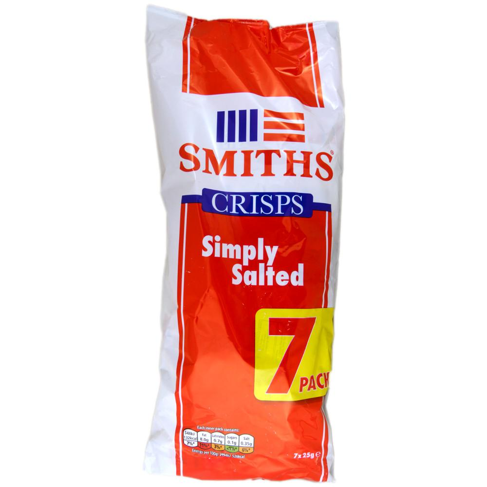 Smiths Simply Salted 25g x 7