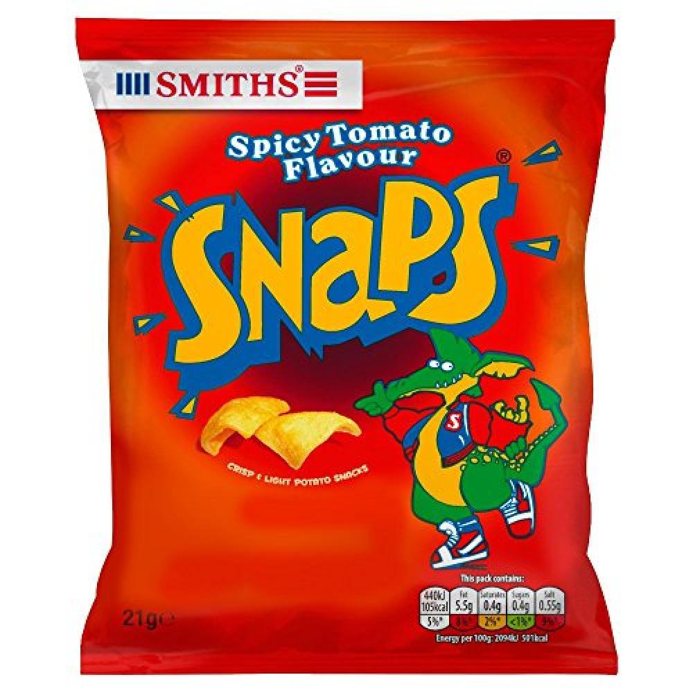 Smiths Snaps Spicy Tomato Flavour 21g