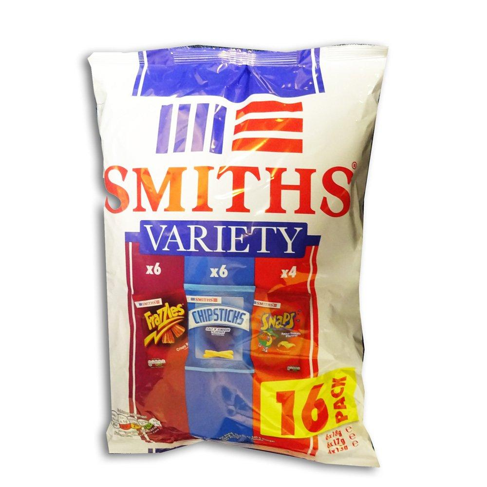Smiths Variety Pack 16 pack