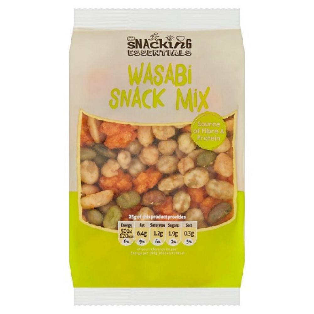 Snacking Essentials Wasabi Snack Mix 150g