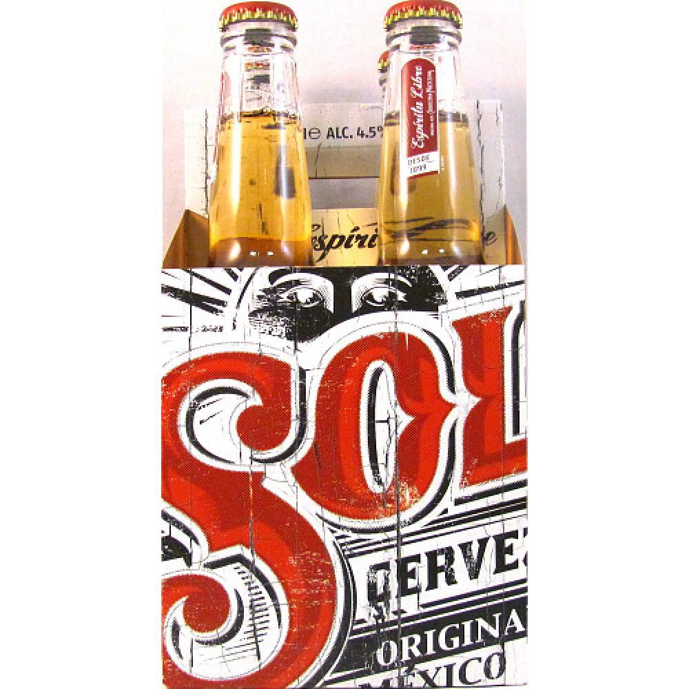Sol Cerveza Original 4 x 330ml
