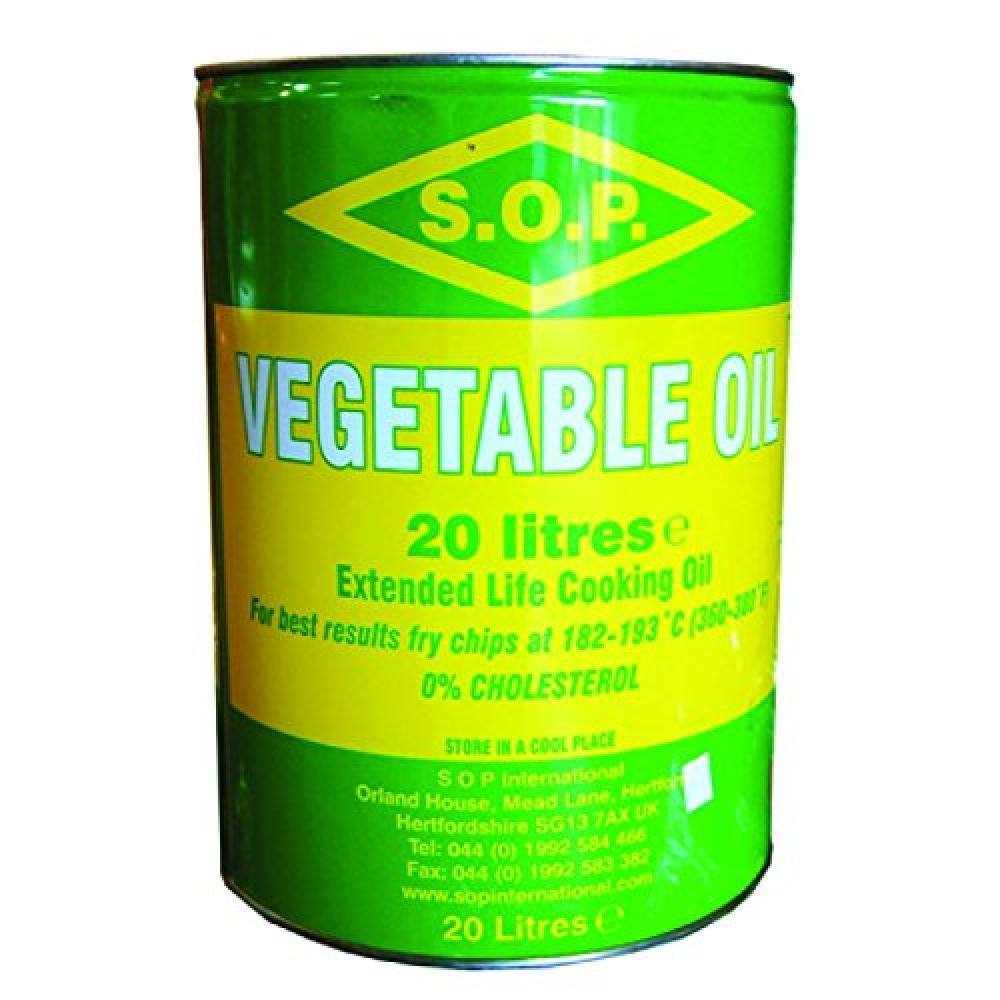 SOP Vegetable Oil Tin 20 Litre