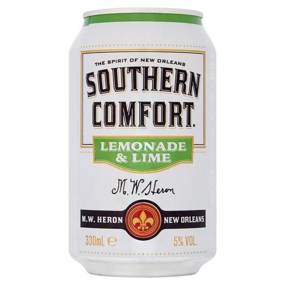 Southern Comfort Lemonade and Lime 330ml