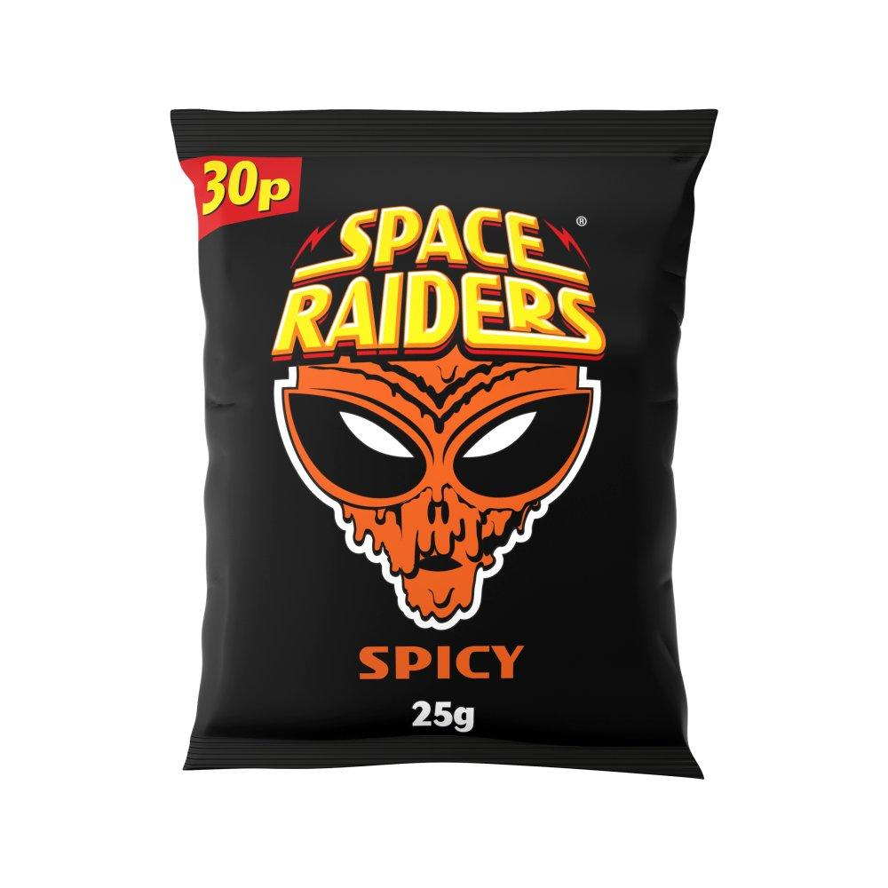 Space Raiders Spicy Flavour 25g