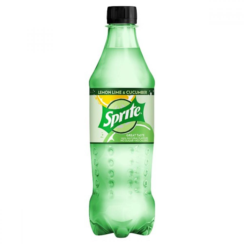 Sprite Lemon Lime and Cucumber 500ml