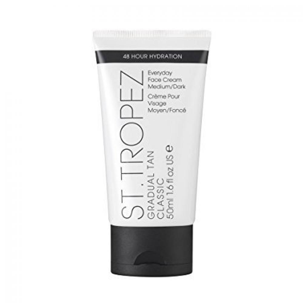 WOM1  St. Tropez Gradual Tan Classic Face Cream - MediumDark 50 ml