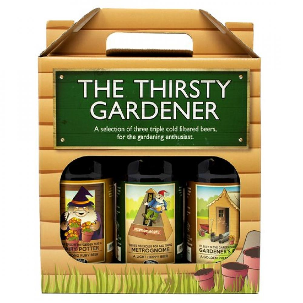 Staffordshire Brewery The Thirsty Gardener Beer Selection 500ml x 3