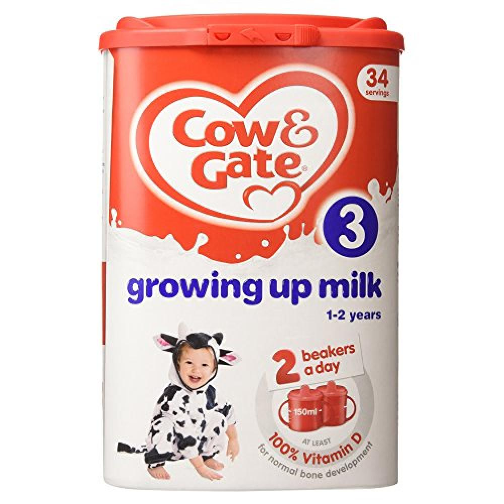 Cow and Gate Stage 3 Growing Up Milk 1 to 2 Years 900g