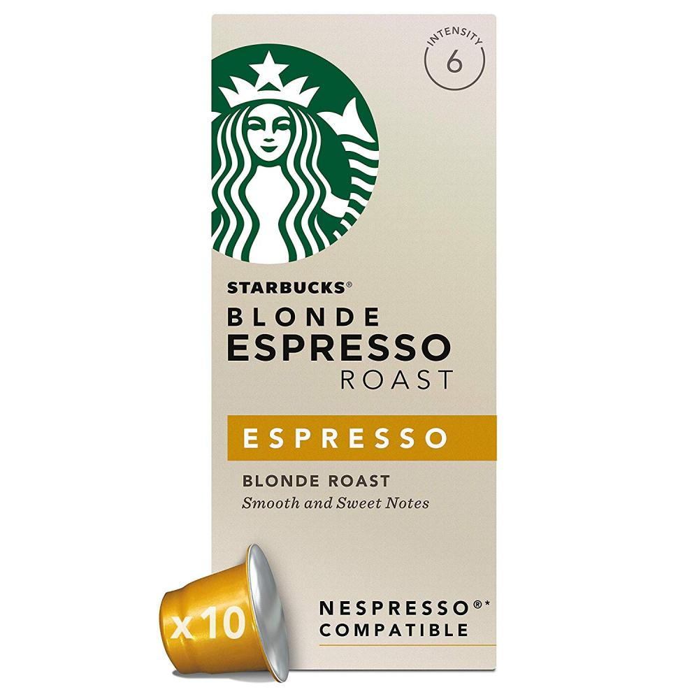 Starbucks Blonde Espresso Roast 10 Capsules