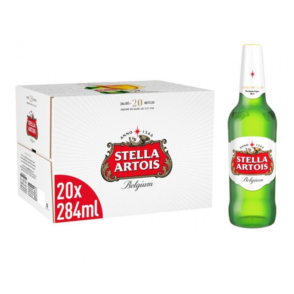 Stella Artois 20 x 284ml