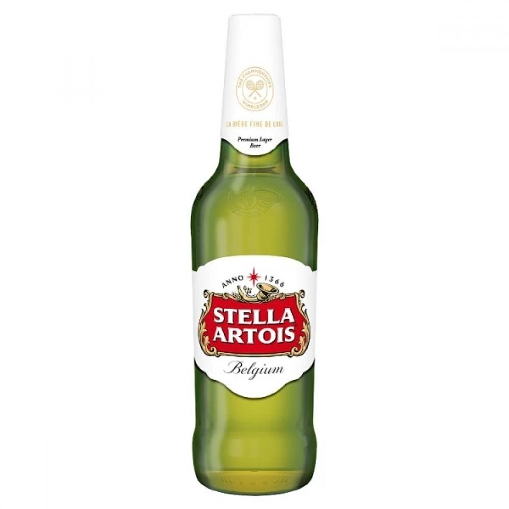 Stella Artois Lager Beer Bottle 330ml