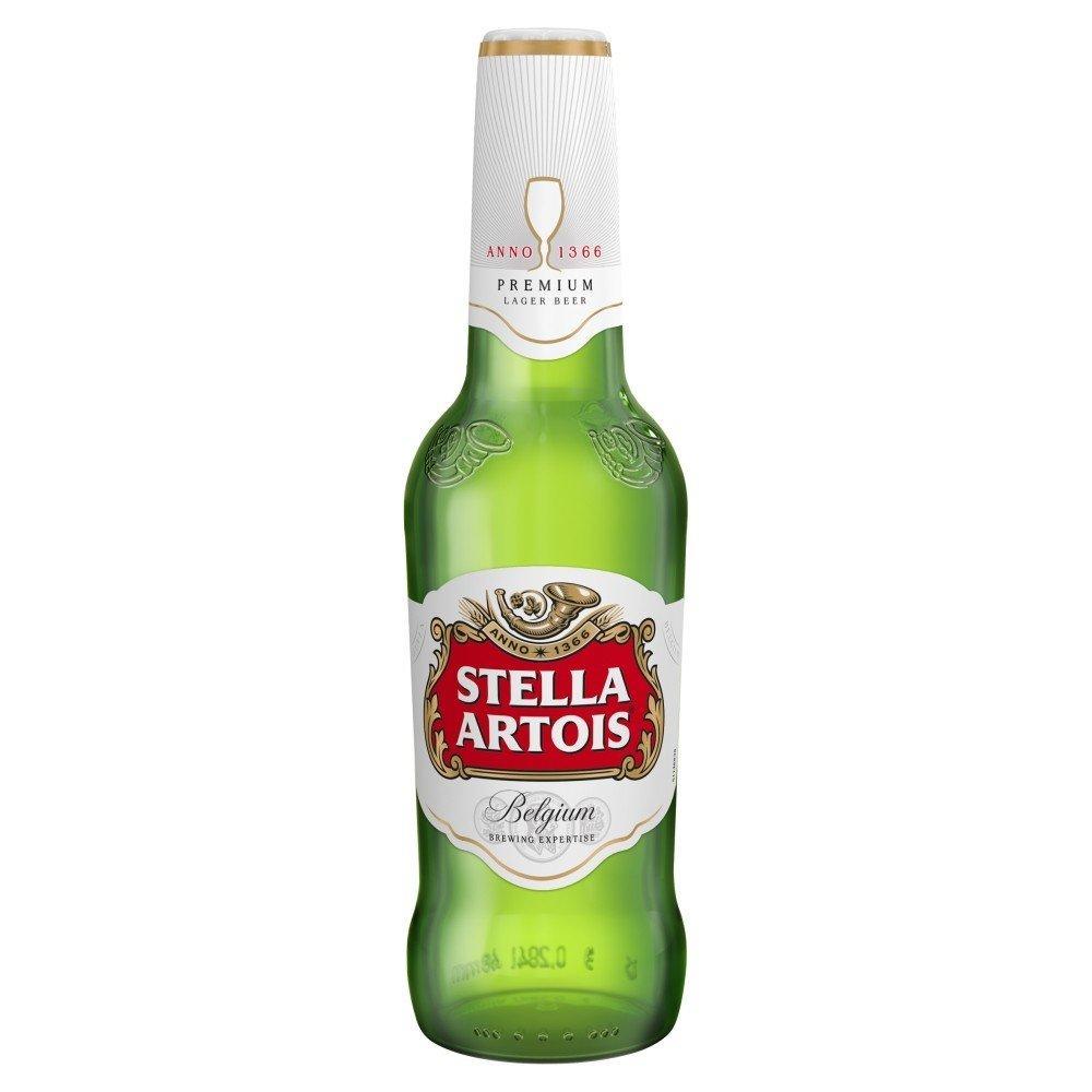 Stella Artois Premium Lager Beer 284ml
