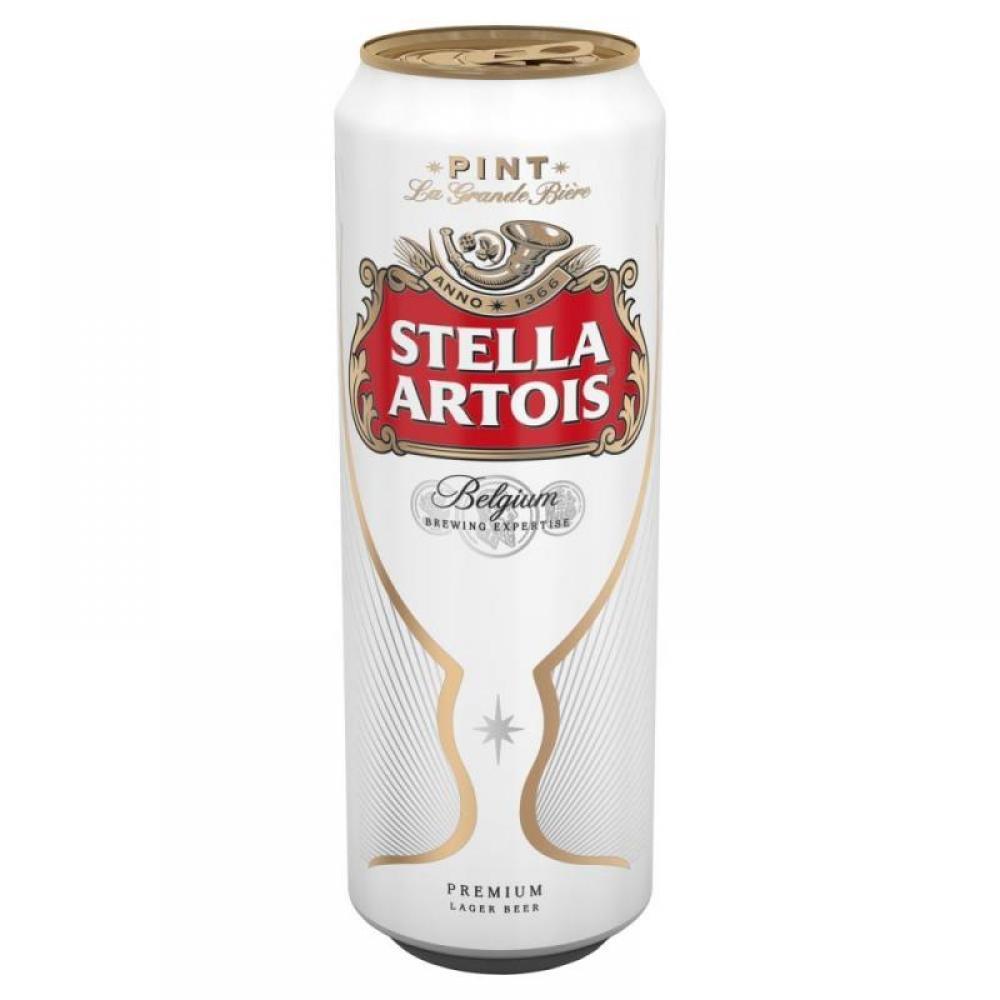 Stella Artois Premium Lager Beer 568ml
