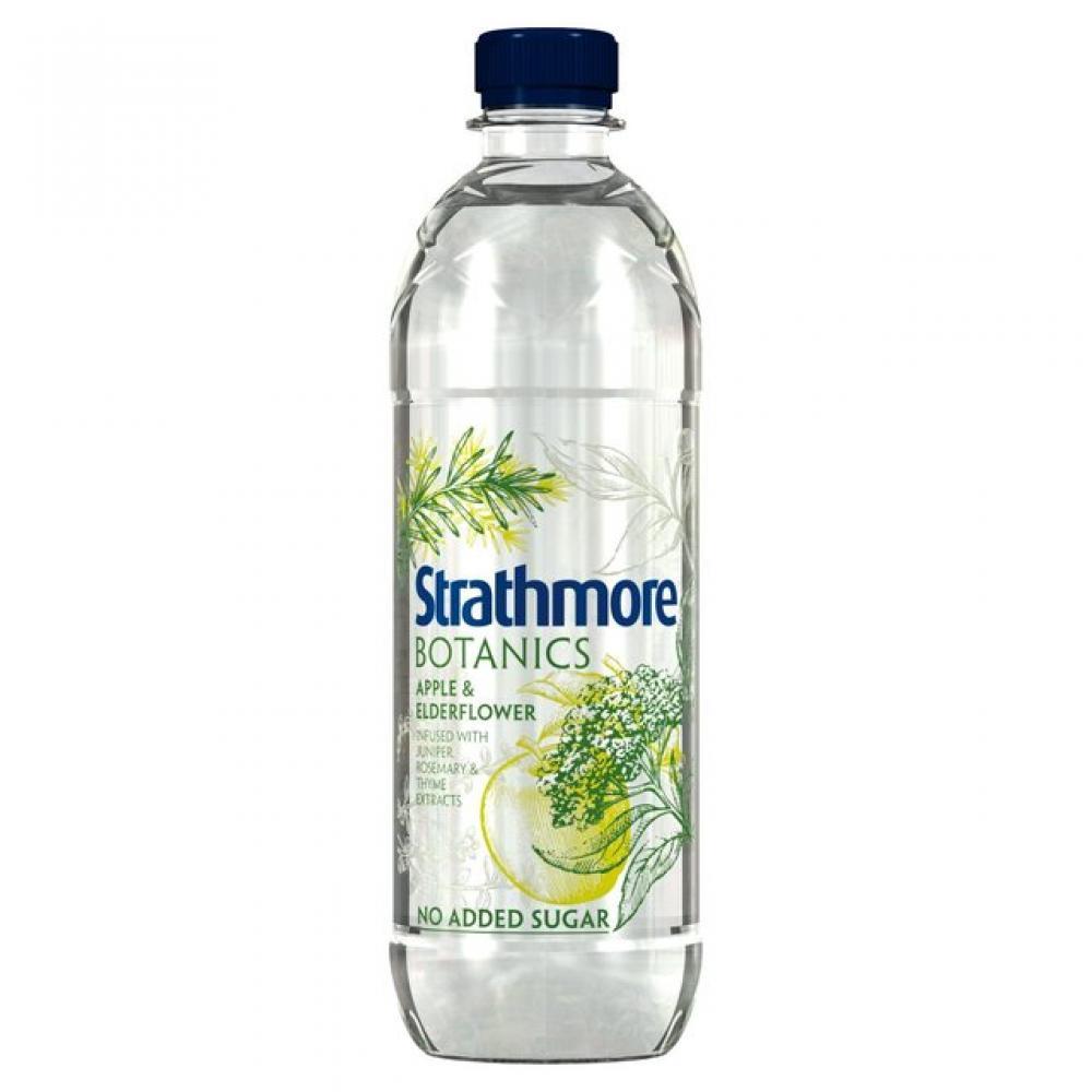 Strathmore Botanics Apple and Elderflower Still Spring Water 500ml