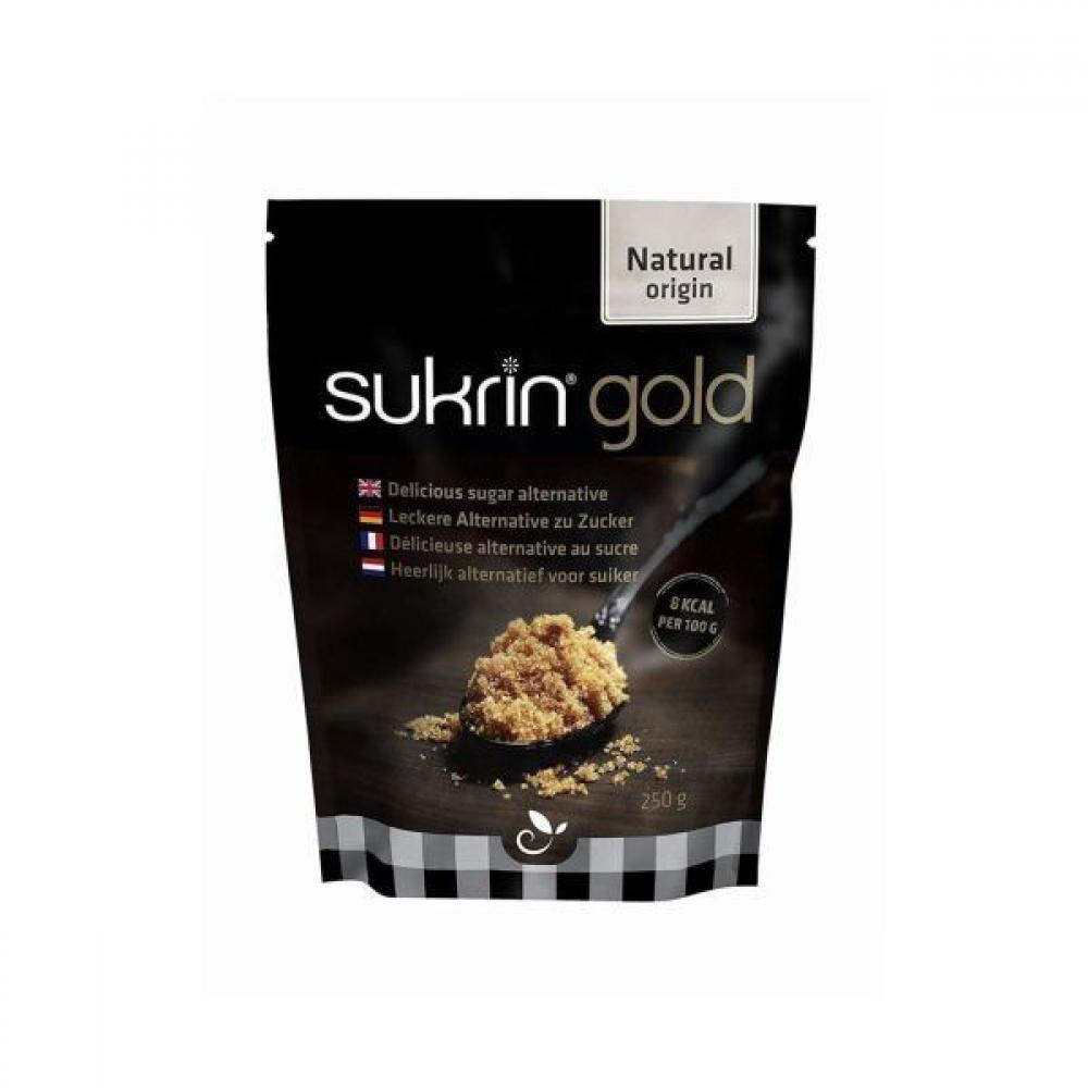 Sukrin Gold All Natural Stevia Sweetener Brown Sugar Alternative 250 g