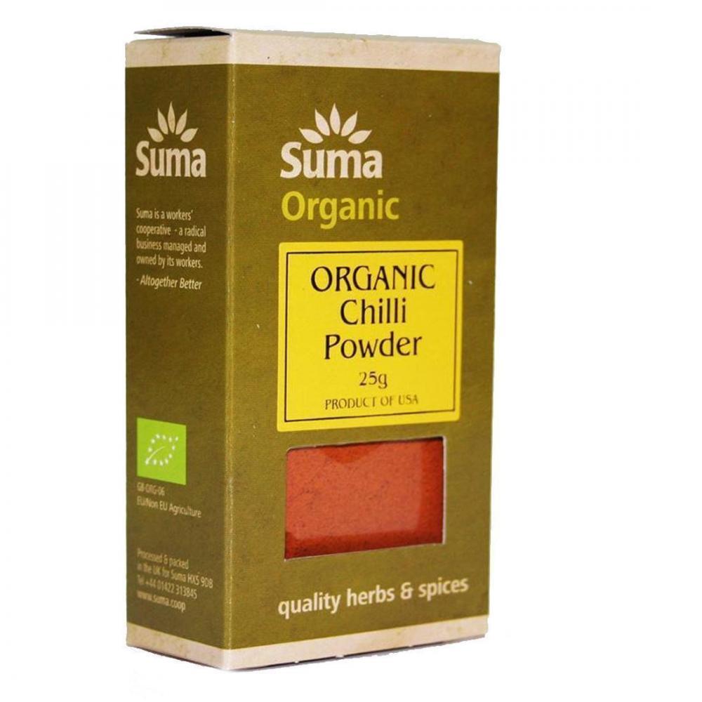 Suma Organic Chilli Powder 25g