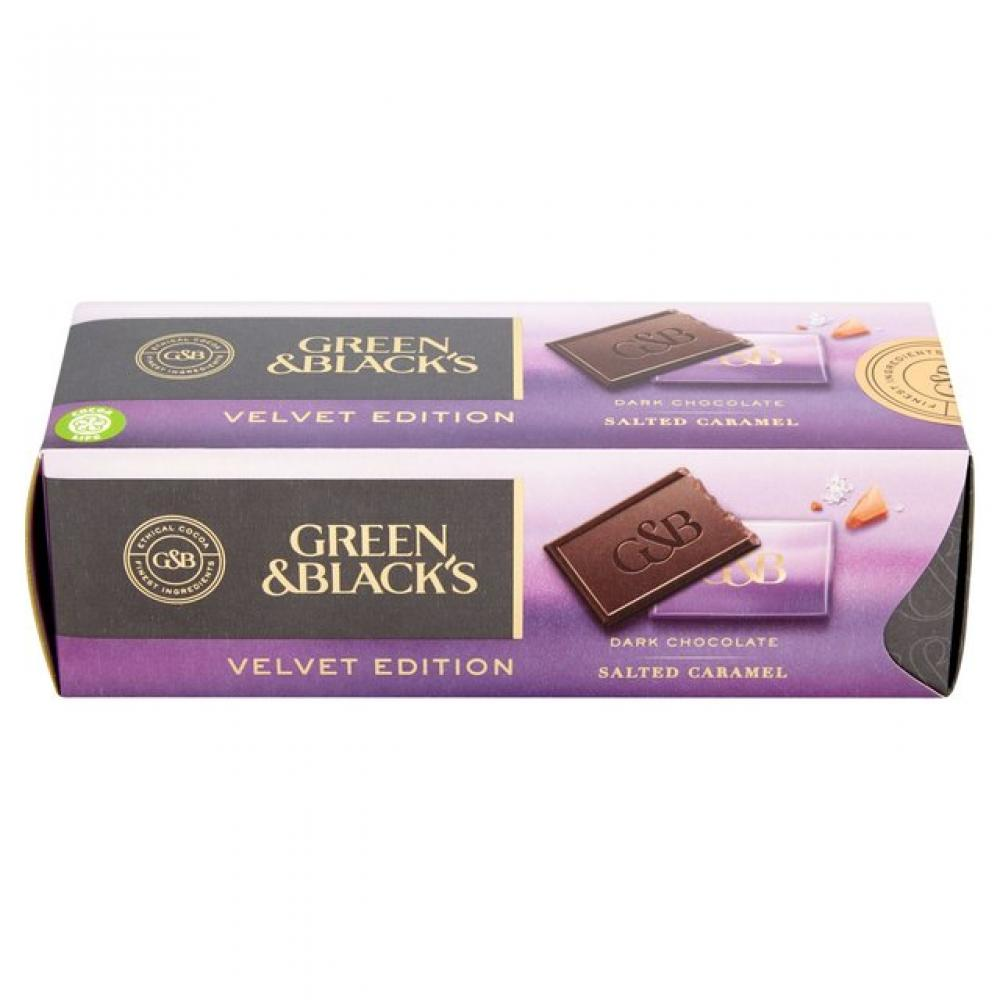Green and Blacks Salted Caramel Dark Chocolate Velvet Edition 200g