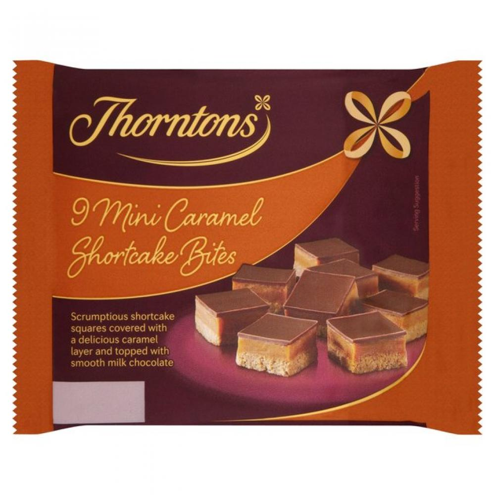 Thorntons 8 Mini Caramel Shortcake Bites