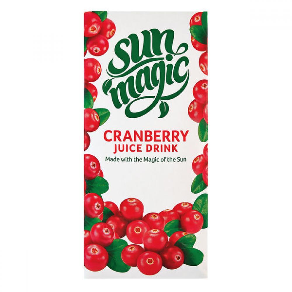 SALE  Sunmagic Cranberry Juice Drink 1 Litre