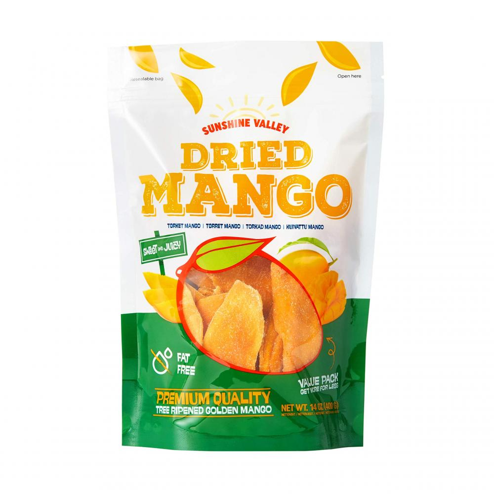 Sunshine Valley Dried Mango 400g