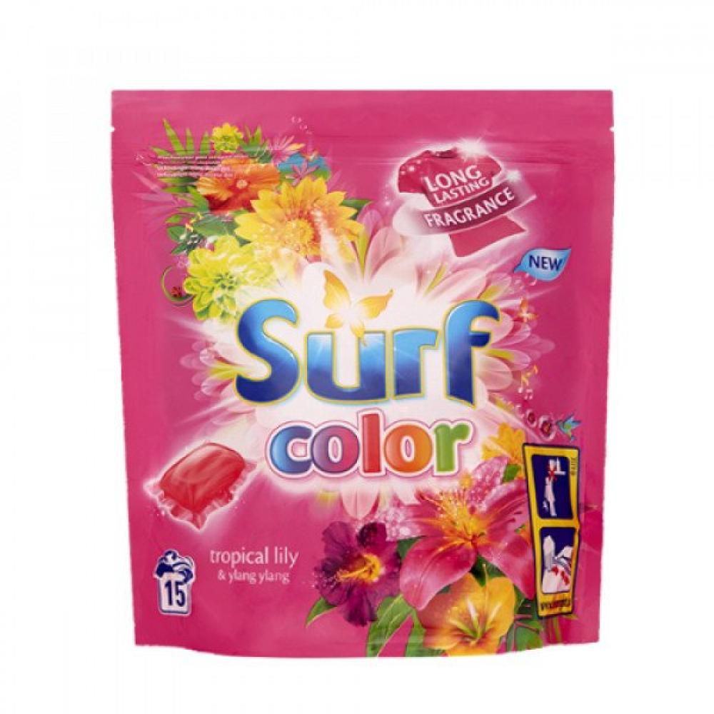 Surf Tropical Lily Washing Capsules 15 washes