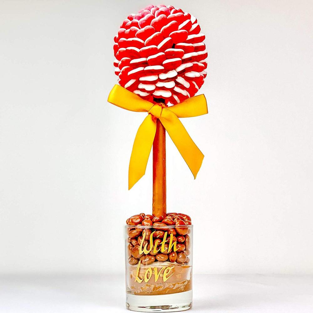 Sweet Tree by Browns Red Haribo Heart Sweet TreeWith Love35 cm