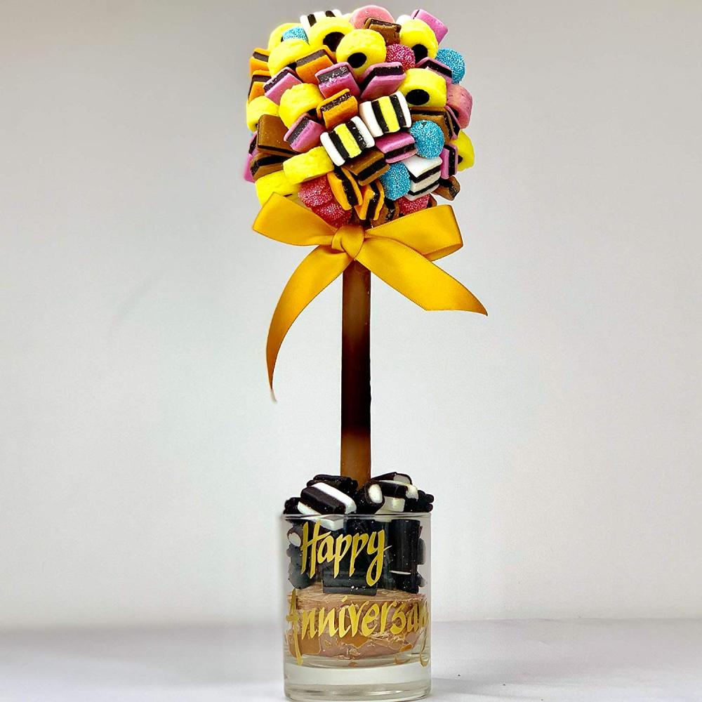 Sweet Trees All Sorts Personalised Sweet TreeHappy Anniversary 35cm