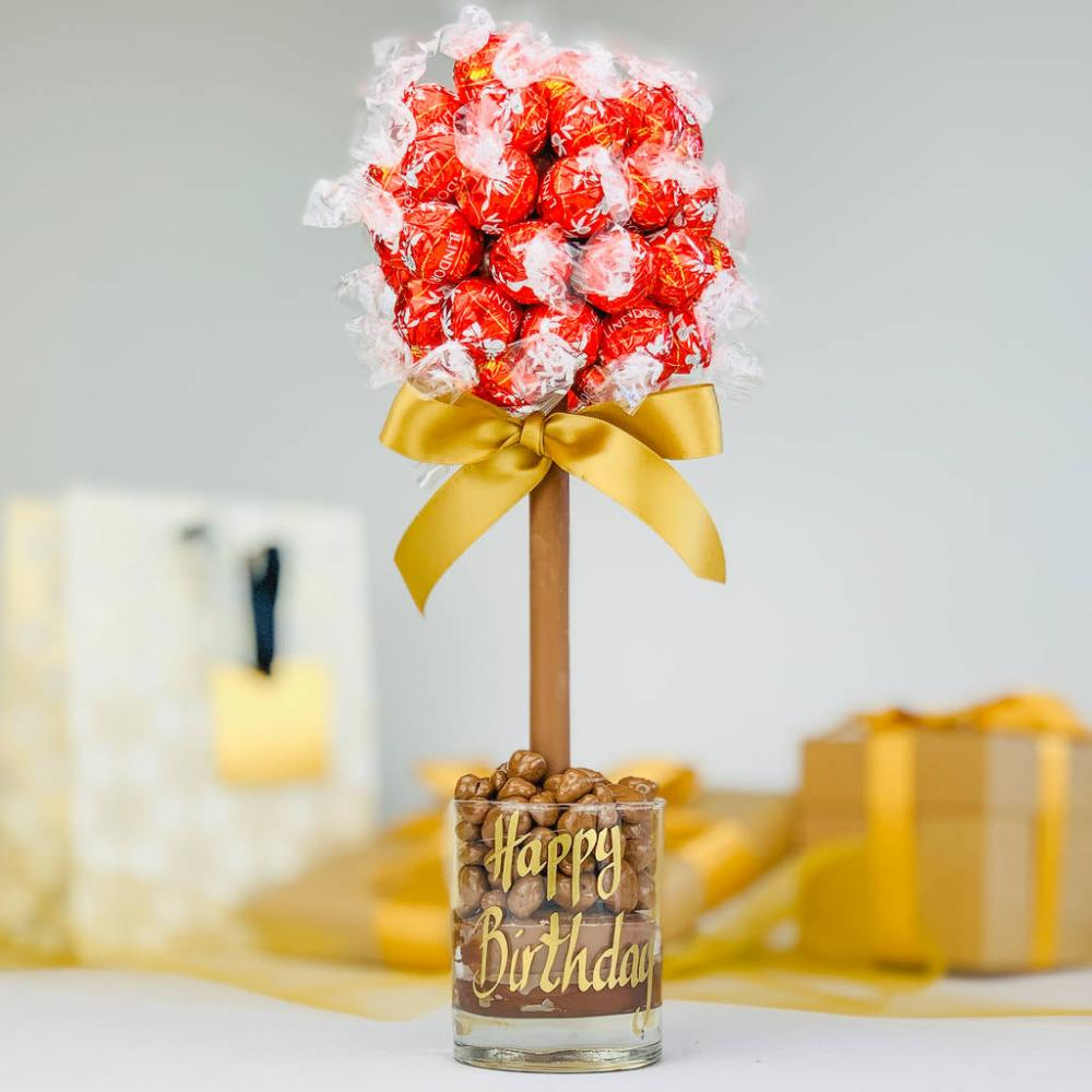 Sweet Trees Lindor Happy Birthday Tree 35cm