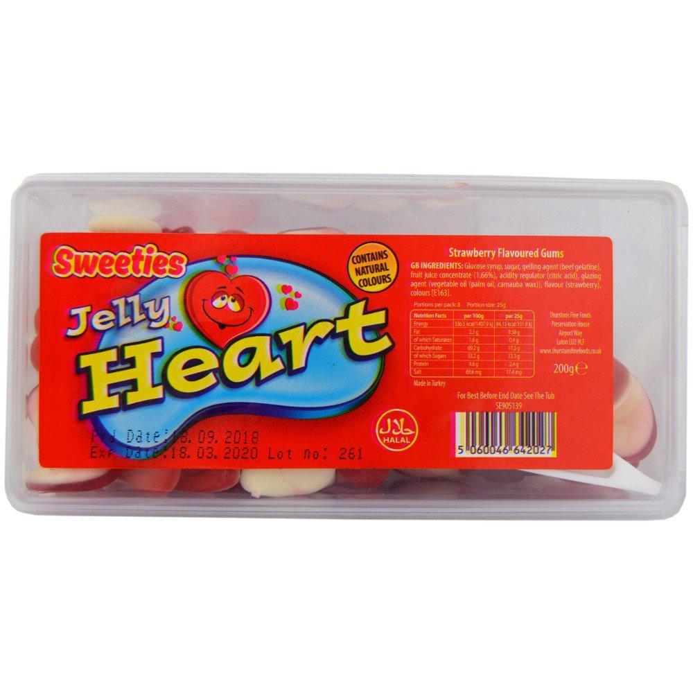 Sweeties Jelly Heart 200g