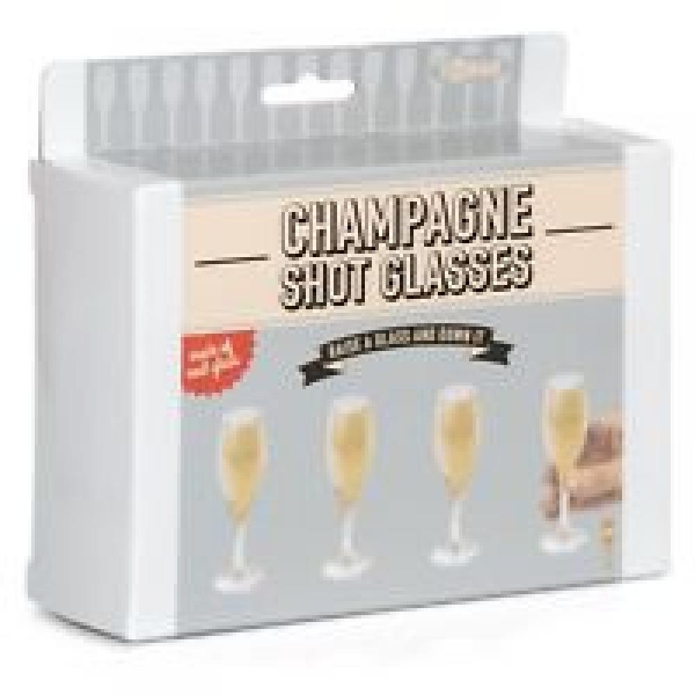 T Bar Champagne Shot Glasses