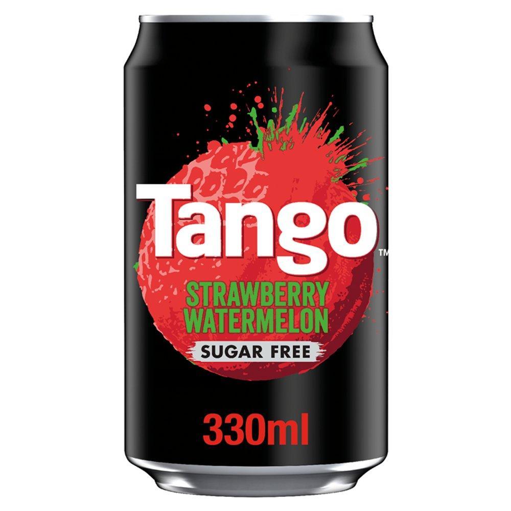 Tango Strawberry and Watermelon Sugar Free 330ml