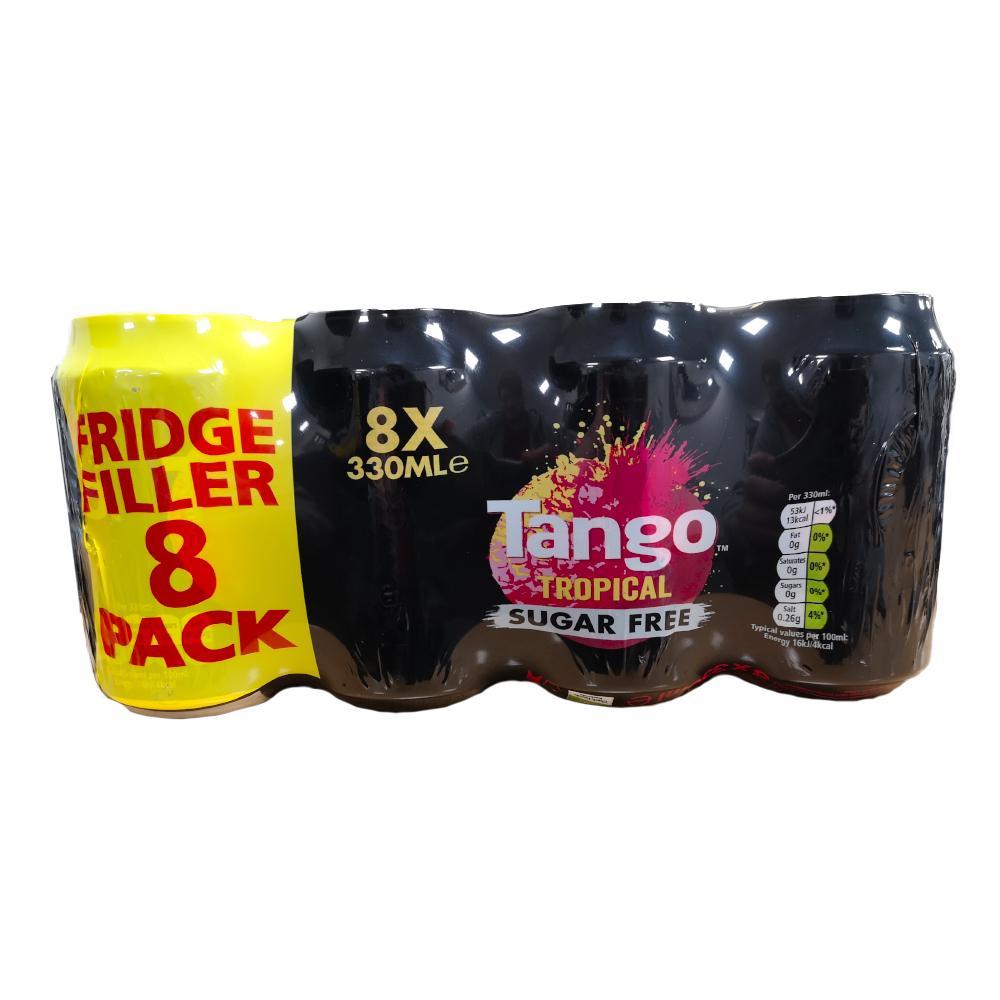 Tango Tropical Sugar Free 8 x 330ml
