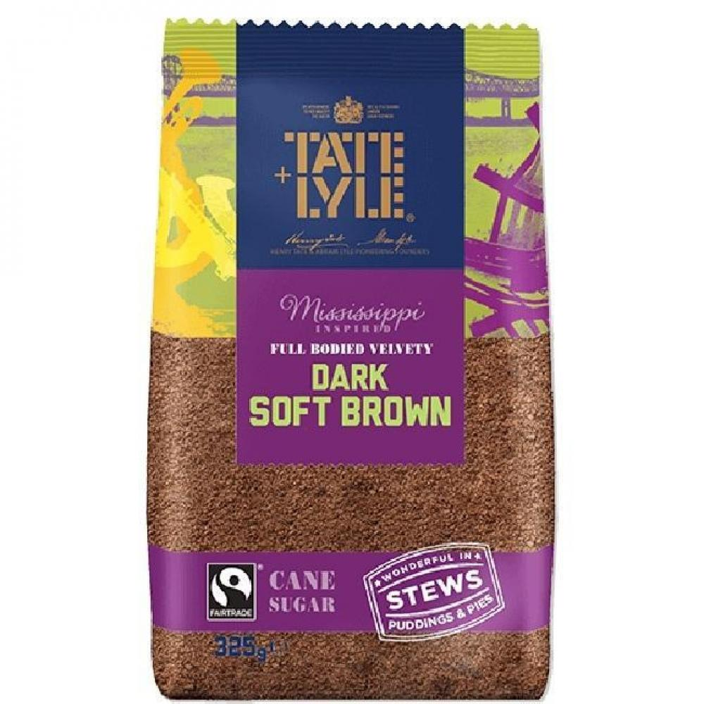 Tate and Lyle Dark Soft Brown Cane Sugar 500g