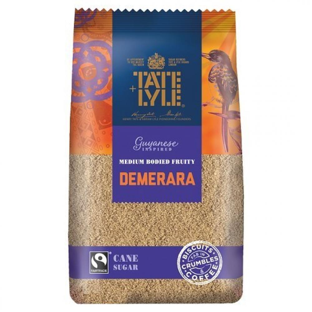 Tate and Lyle Demerara Cane Sugar 350g