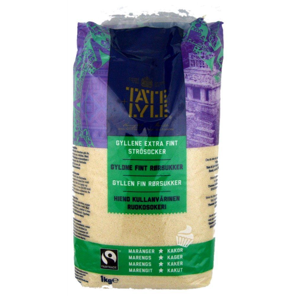 Tate and Lyle Fine Golden Cane Sugar 1kg