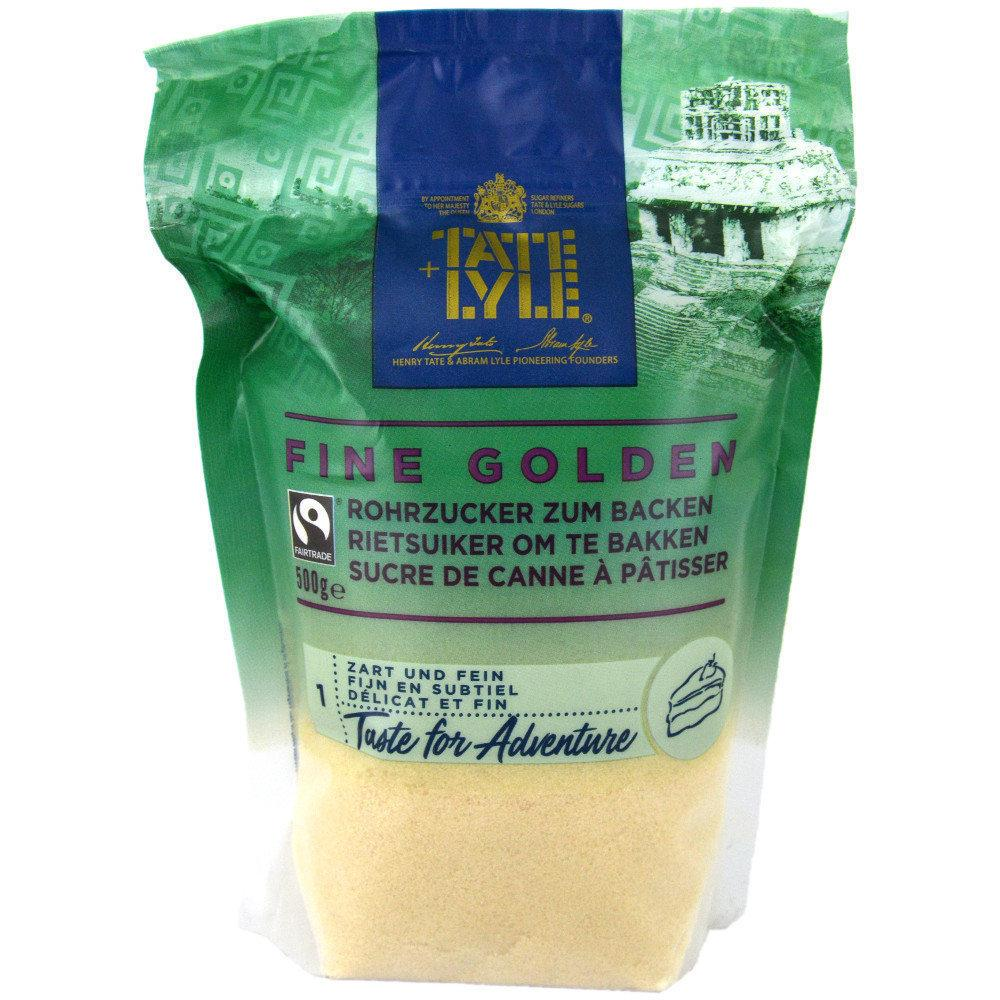 Tate and Lyle Fine Golden Cane Sugar for Baking 500g