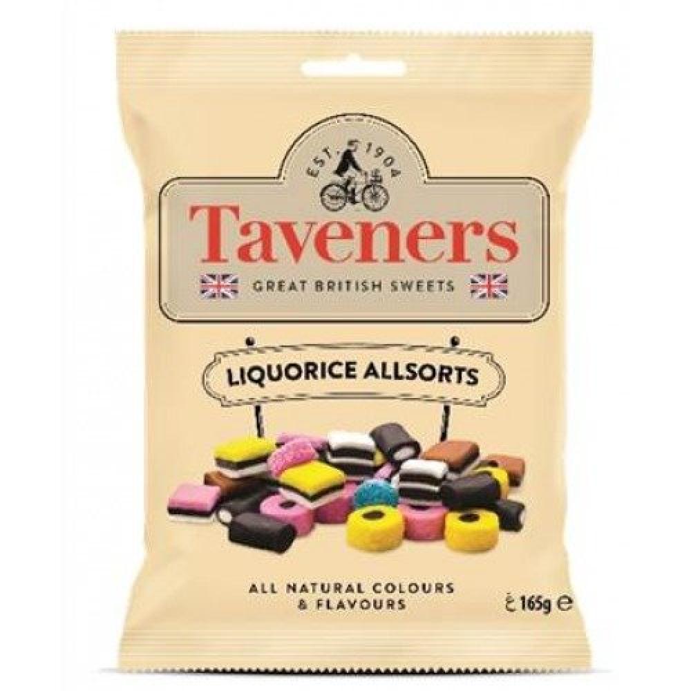 Taveners Liquorice Allsorts 165g