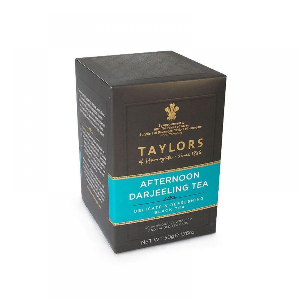 Taylors Of Harrogate Afternoon Darjeeling Tea 20 Tea Bags