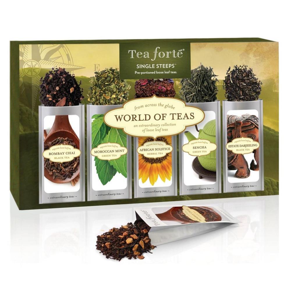 SALE  Tea Forte World Of Teas Loose Leaf Tea Sampler 58.5g
