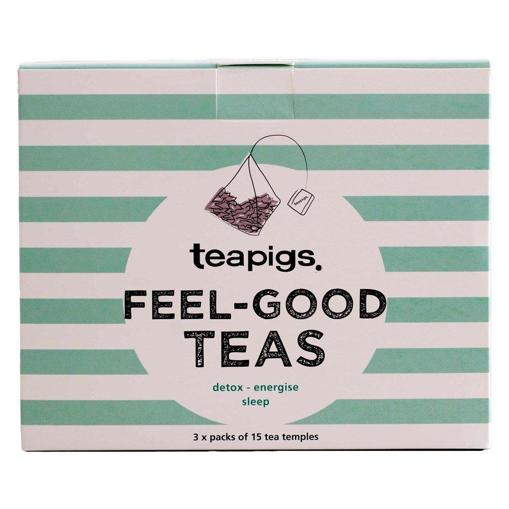 Tea Pigs Feel Good Teas Box