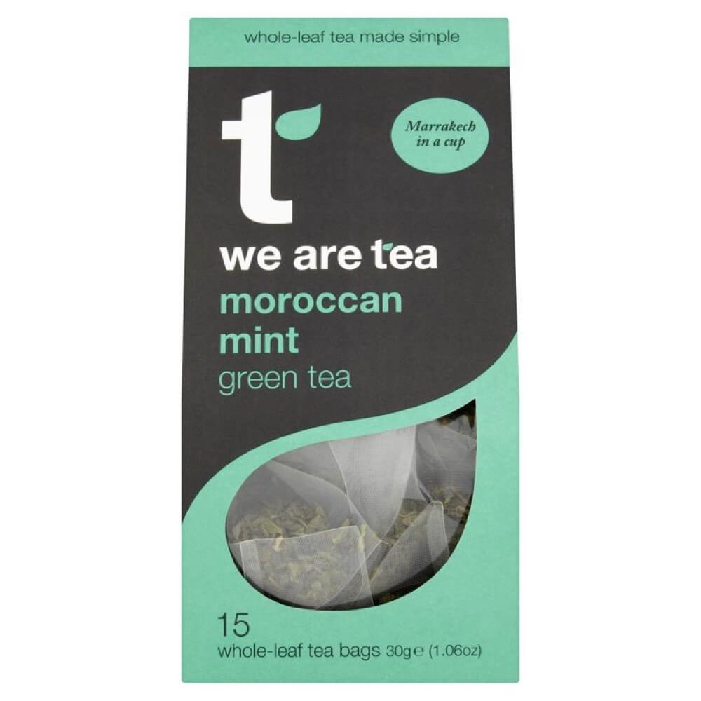 Tea Retail Moroccan Mint Green Tea 15 Bags