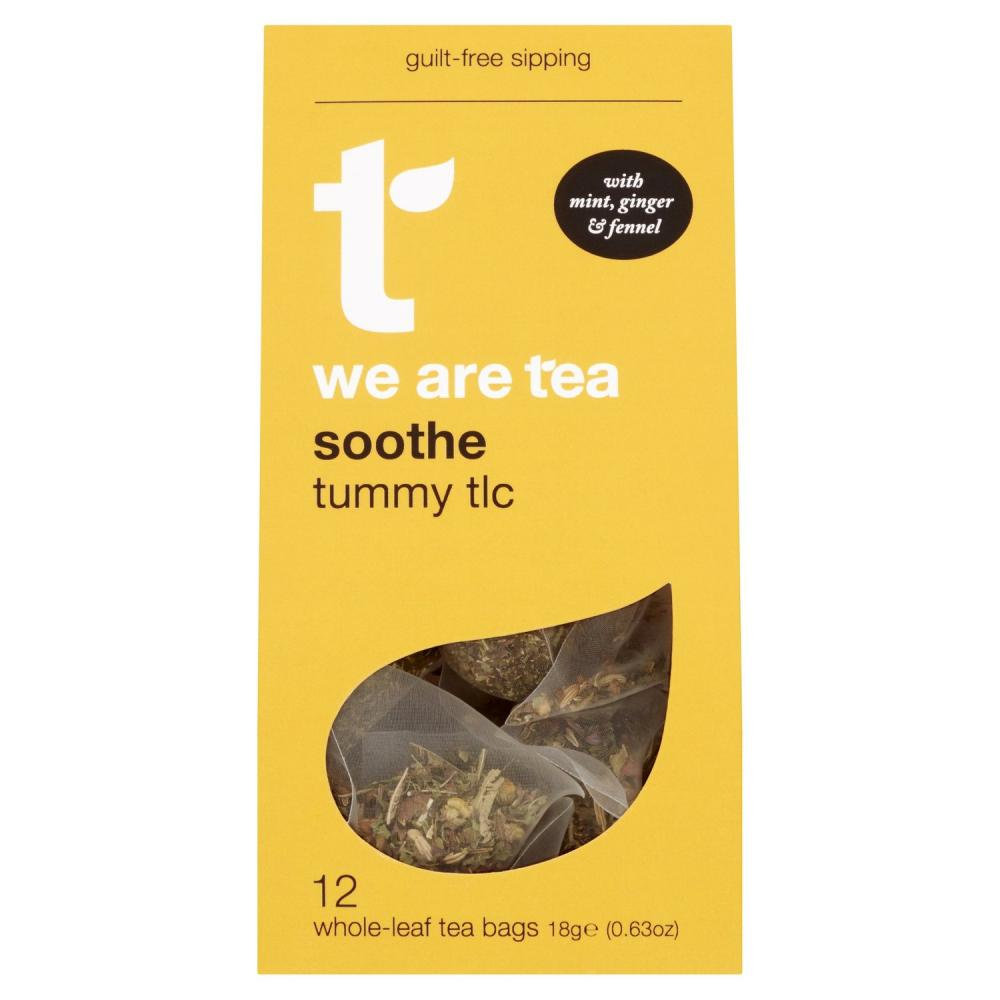 Tea Retail Soothe with Mint and Ginger 12 Bags