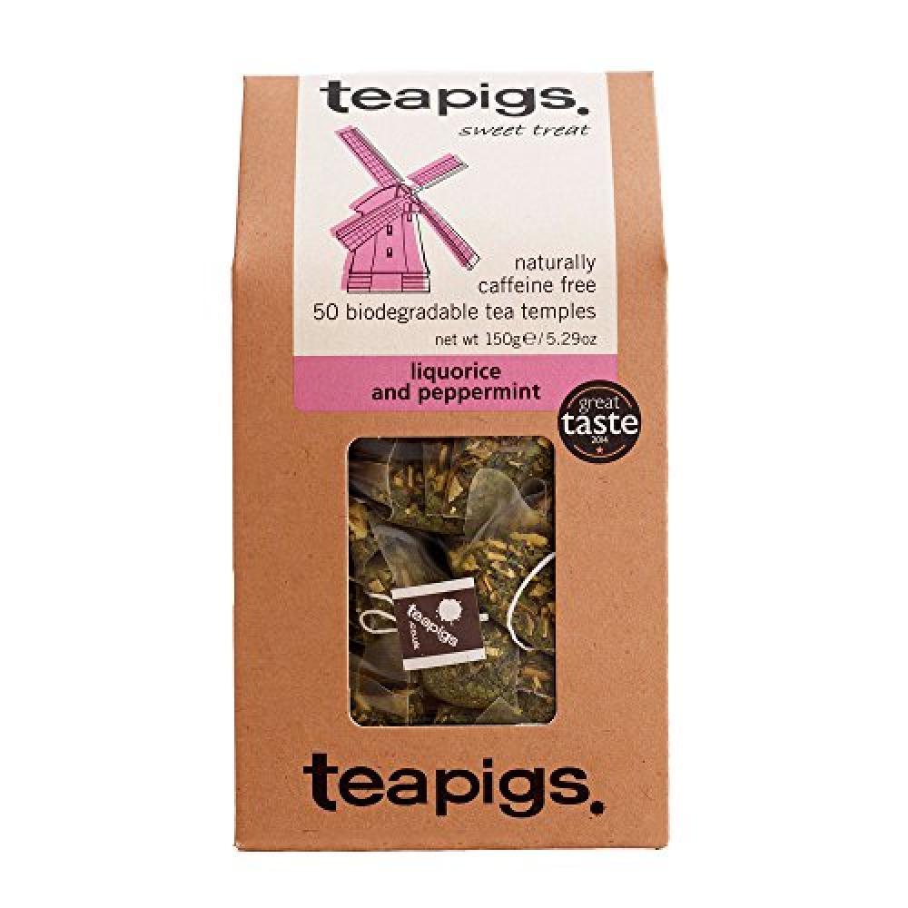 Teapigs Liquorice and Peppermint Tea 50 bag