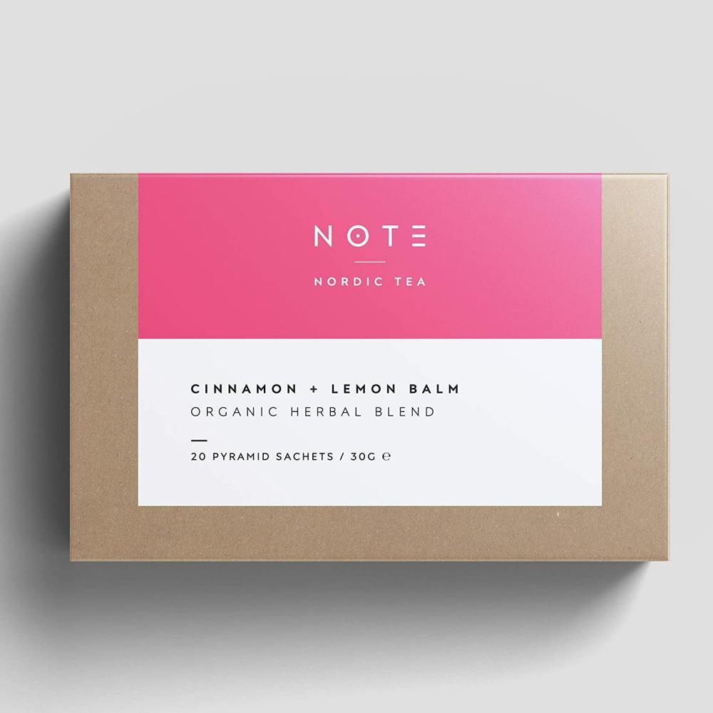 Teministeriet Note Cinnamon Lemonbalm Organic Tea 30g