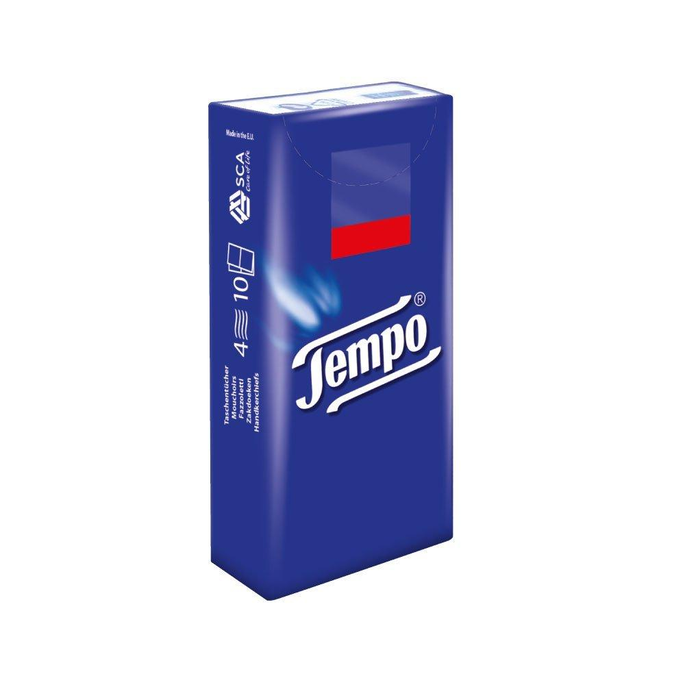 Tempo Classic Tissues 10 Tissues Pack of 1