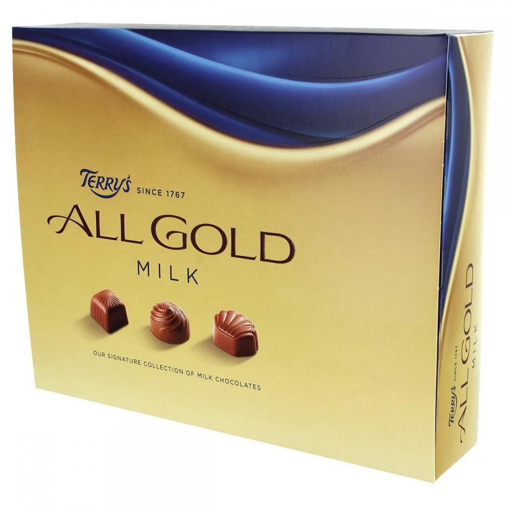 Terrys All Gold Milk Chocolate 380g