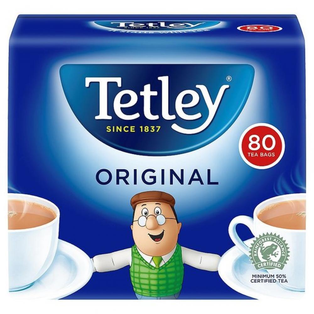 Tetley Original Tea 80 Bags
